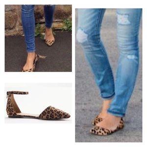 Shoes - New Arrival Leopard Print Flats